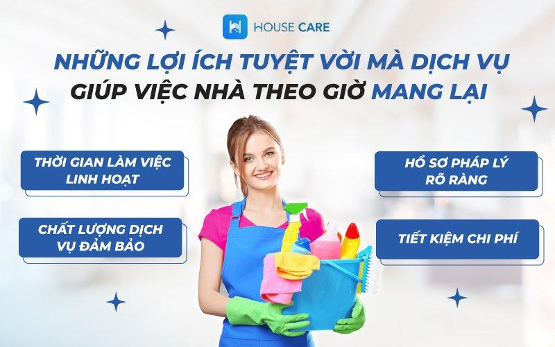 Dịch vụ giúp việc nhà theo giờ và những điều bạn cần biết